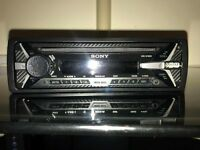 sony car stereo with usb port (excellent condition)