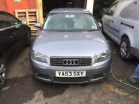 AUDI A3 8P 3.2 V6 BREAKING FOR PARTS