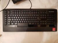 """sold"" SteelSeries APEX Raw US Layout Keyboard."
