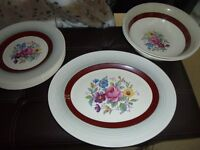 Midwinter Stylecraft Classic Shape china – Rose Design - £20