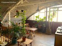 Artist / designer/ maker studio space to rent in London Fields, Hackney