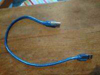 USB PRINTER CABLE 49cm