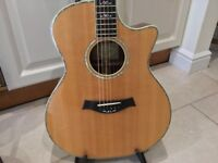 Taylor 914CE Electro Acoustic Guitar with Original Taylor Hardshell Case - As New Condition