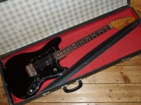 Fender USA Musicmaster 1978 with Seymour Duncan pickups