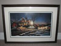 FOR SALE: TERRY REDLIN – LIGHTS OF HOME L/E PRINT