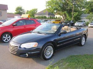 2004 Chrysler Sebring  LXi CUIR  152000 mil  A1 DECAPOTABLE