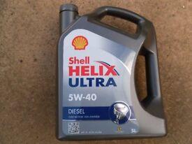 Shell Helix Ultra Diesel 5W-40.