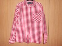 ARMATA DI MARE ITALY Blouse Size M/L red&white Ladies Basic Shirt