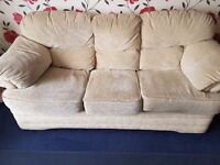 3 seater and single seater settee