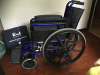 Self-Propelled Foldable Wheelchair. Affordable Care Ltd.