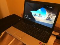 HP COMPAQ CQ61 LAPTOP WITH CASE AND CHARGER AND NEW BATTERY IN FULL WORKING ORDER IN MINT CONDITION