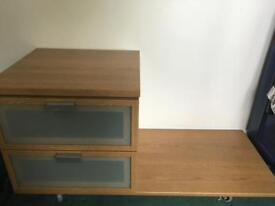 Pair of bed side tables