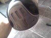 Dunlop Oversize Titanium Golf Wood Matrix 65i 400cc Black Shaft WILL Post Golf Club