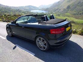Audi A3 Convertible Cabriolet 2.0 TDI S LINE 2dr (140BHP) start/stop