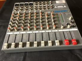 Phonic mm122 12 channel mixer