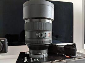 Sony G-Master 85mm 1.4 GMASTER GM Camera Lens