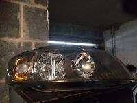 Audi S-line headlights