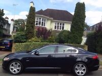 Jaguar XF 2.7 2008 Premium Luxury 4dr DIESEL ** 10 MAIN DEALER SERVICE STAMPS ** 2 KEYS ** LONG MOT