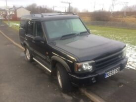 LAND ROVER DISCOVERY METROPOLIS TDI- 53 REG -AUTO, LEATHER- SPARES OR REPAIR