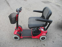 GOGO ULTRA mobility scooter, 18 stone user weight, good condition