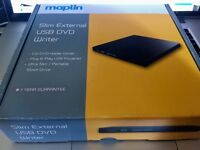 Maplin External DVD Writer - USB Powered