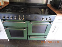 Range Master Leisure 110 LPG cooker Racing Green