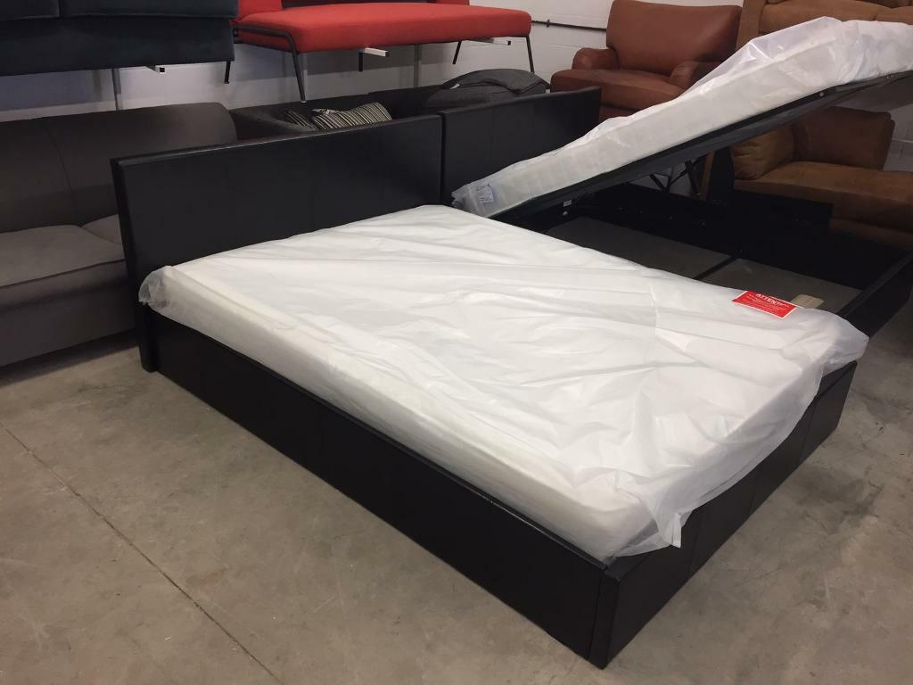 Enjoyable New Ex Display King Size Bed Storage Ottoman Bed With Mattressdelivery Available In Darlington County Durham Gumtree Pdpeps Interior Chair Design Pdpepsorg