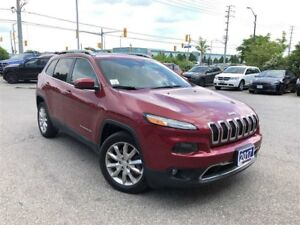 2017 Jeep Cherokee LIMITED**SAFETY TEC GROUP**VENTILATED SEATS**