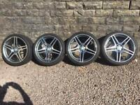 MERCEDES AMG 20 Inch ALLOYS AND TYRES. REPLICAS.