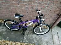 Carrera Luna Girls 20inch bike