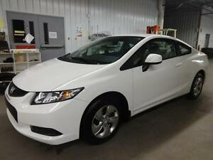 2013 Honda Civic Cpe LX AUTOMATIQUE BAS KILO