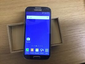 Samsung galaxy S4 blue 16gb unlocked to all networks £110, cash only no PayPal or bank transfer