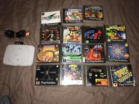 PS1 with 15 games