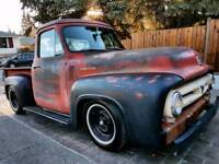 1953 Lowered Ford F100 Stepside Hot Rat Patina Stunning