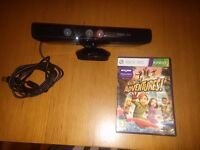 Xbox kinect and Kinect Adventures game