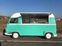 Vintage French Food trucks by Trucks Design - Renault estafette - Citroen hy - Peugeot j7