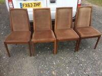 Four Nathan Chairs