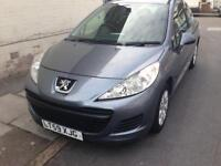 2010 59reg Peugeot 207 1.4 Petrol Low Miles good first car