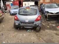VAUXHALL CORSA D DAMAGED SALVAGE BREAKING SPARE PARTS 2007 - 2013