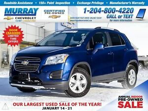 2016 Chevrolet Trax LT *All Wheel Drive, Sunroof, Remote Start*