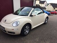 VW Beetle Convertible 2008 1.6 Petrol MOT until 20.05.2019 great condition for year 2 keys