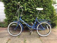 Vintage Folding City Bike