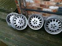 Alfa Romeo 916 GTV alloy wheels - full set!!