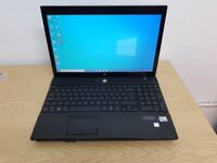 15.6'' HP Laptop, Intel Core 2 Duo 4GB RAM & 320GB HDD Windows 10