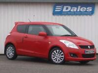 Suzuki Swift 1.2 SZ4 3Dr Hatchback (bright red) 2012