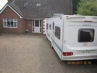 ** SWIFT CONQUEROR * TWIN AXLE *4/ 5/6 BERTH TOURING CARAVAN *2002/3 MODEL