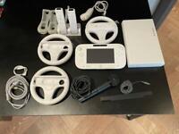 Nintendo Wii U 8gb Lots of Accessories