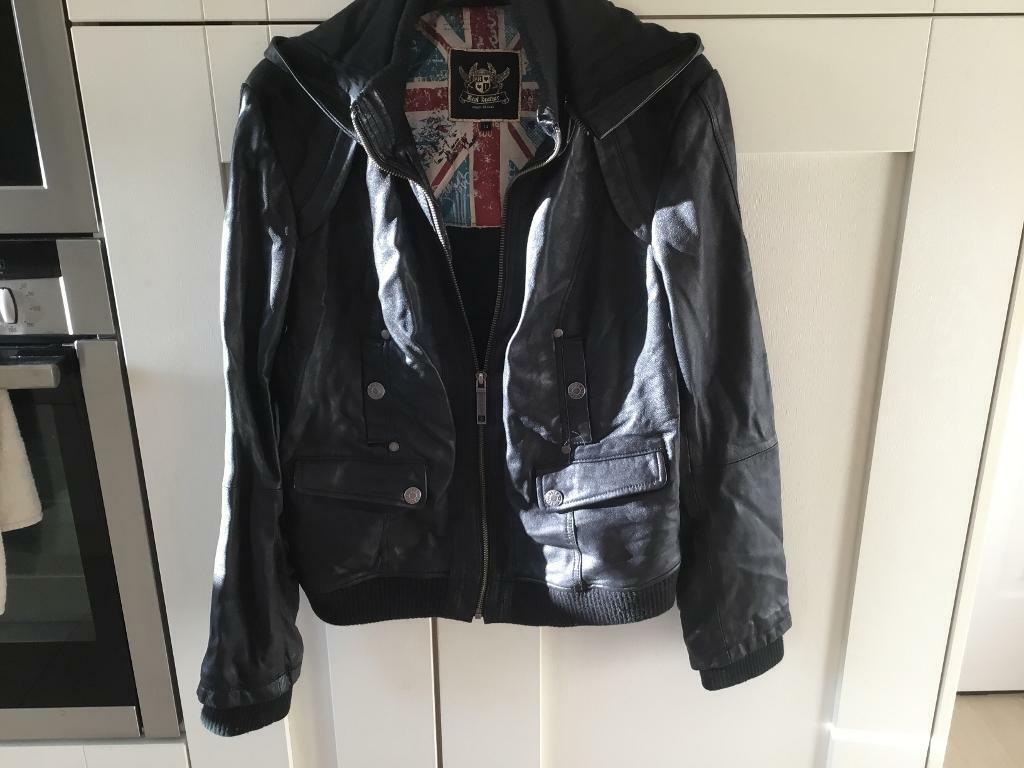 River Island Leather Jacket   in High Lane, Manchester   Gumtree