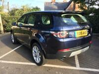 Land Rover Discovery Sport SD4 HSE (blue) 2015-04-14