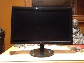 "Asus 17"" l.e.d - P.c monitor."